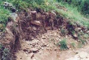 Erosion du sentier