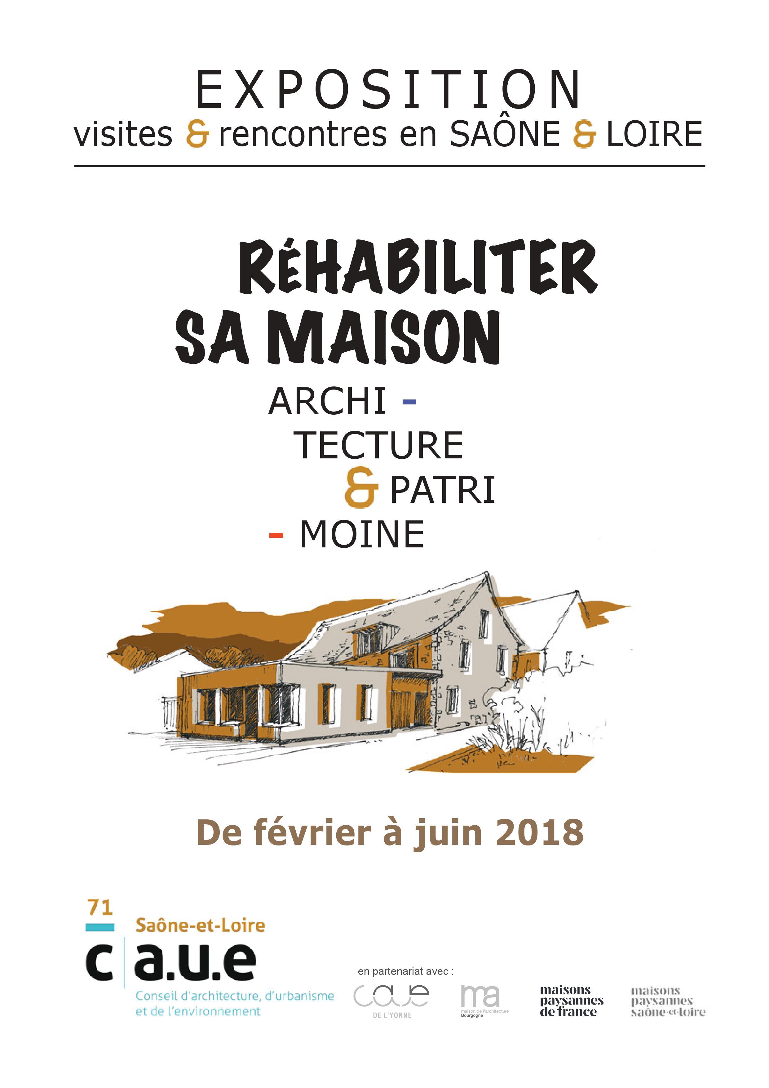 Une Exposition Itinérante Sur Les Réhabilitations Contemporaines De Maisons  Paysannes, Présentée En Bresse, Dans Lu0027Autunois Morvan, Le Chalonnais, ...